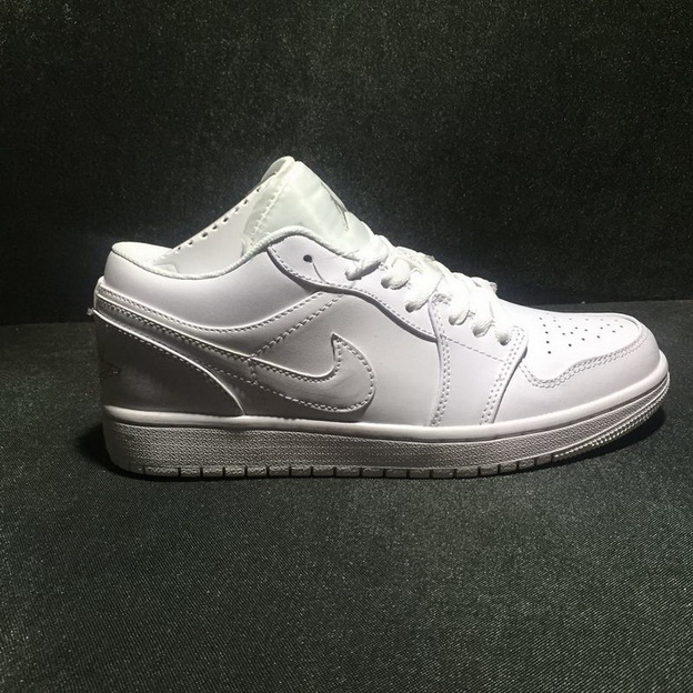 Air Jordan 1 Low Shoes White ALL
